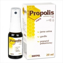 PROPOLIS FORTE ESKTRAKT ETANOLOWY 10% 20ml BARTPOL