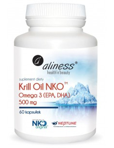 OLEJ Z KRYLA-KRILL OIL NKO 500mg 60kaps ALINESS