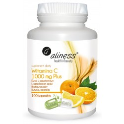 WITAMINA C 1000 mg PLUS, 100kaps - ALINESS