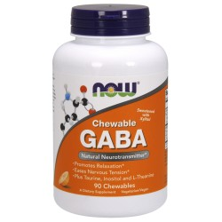 GABA + aminokwasy 90 tab.. NOW FOODS