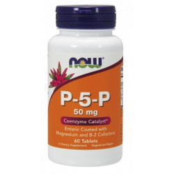 P-5-P ( WITAMINA B6  ) 50mg 90 kaps. NOW FOODS