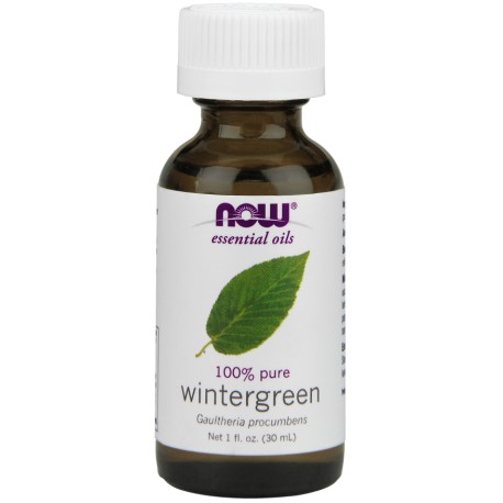 OLEJEK GOLTERIOWY ( WINTERGREEN OIL ), 30ML NOW FOODS