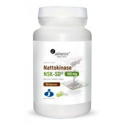 NATTOKINAZA NSK-SD 100mg 60kaps. ALINESS