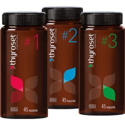 THYROSET - WSPARCIE TARCZYCY W 3 KROKACH, 3X45 kaps. - Norsa Pharma