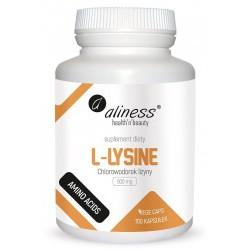L-LYSINE 500 mg x 100kaps. ALINESS