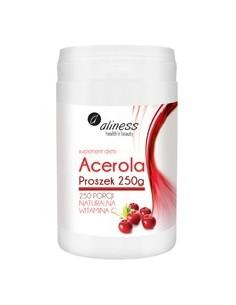 ACEROLA PROSZEK 250g WITAMINA C ALINESS
