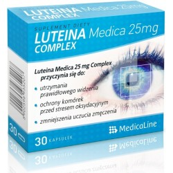 LUTEINA MEDICA 25mg COMPLEX 30kaps.ALINESS