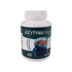 LECYTYNA MEDICA 1200mg 60kaps. MEDICALINE ALINESS